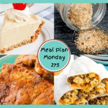 Meal Plan Monday 275