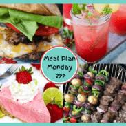 Meal Plan Monday 277