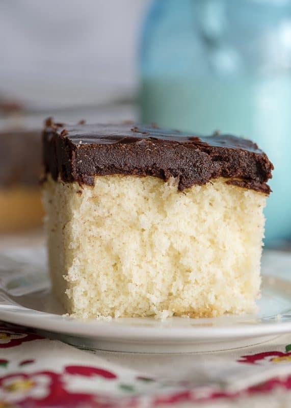 Grandma Pearl's Flaky Chocolate Icing - Piece of Cake!