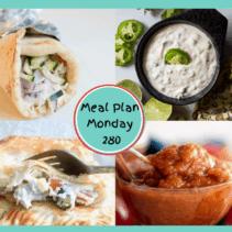 Meal Plan Monday 280
