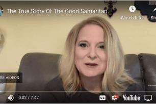 The true story of the Good Samaritan