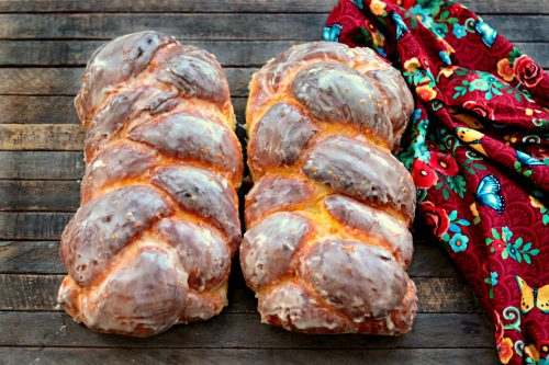 Orange Challah Bread