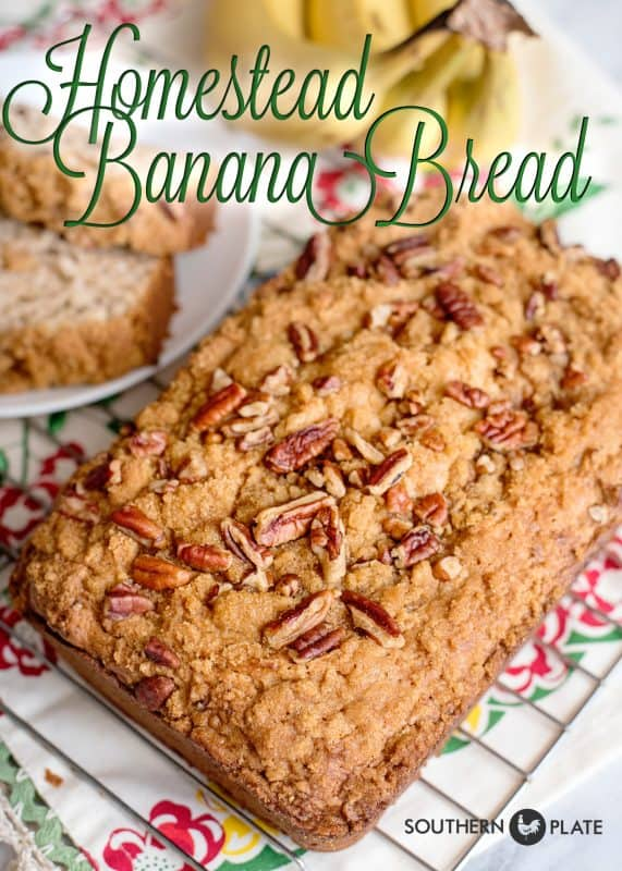 Homestead Banana Bread