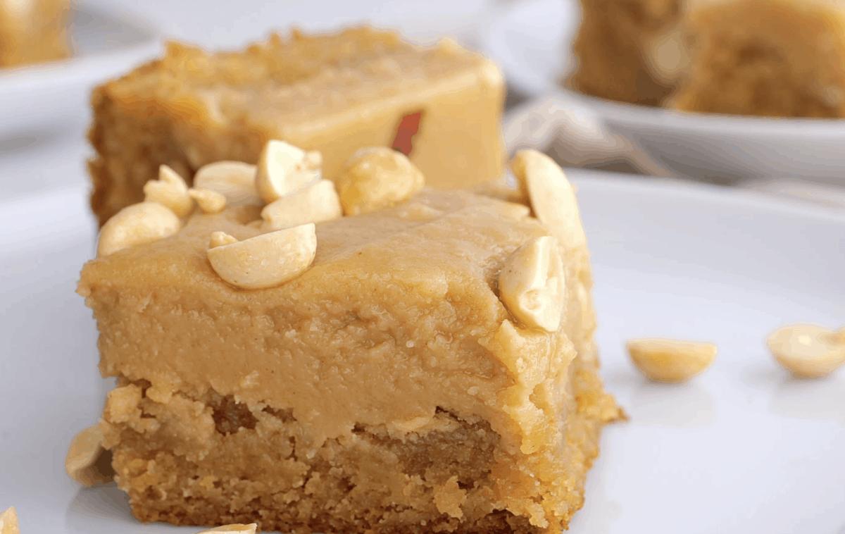peanut butter brownies
