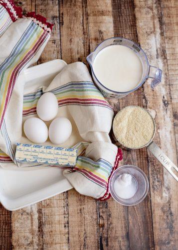 Ingredients for Keto Cornbread