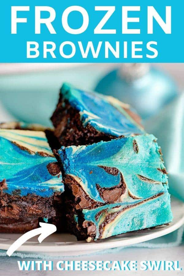 Tie Dyed Cheesecake Brownies