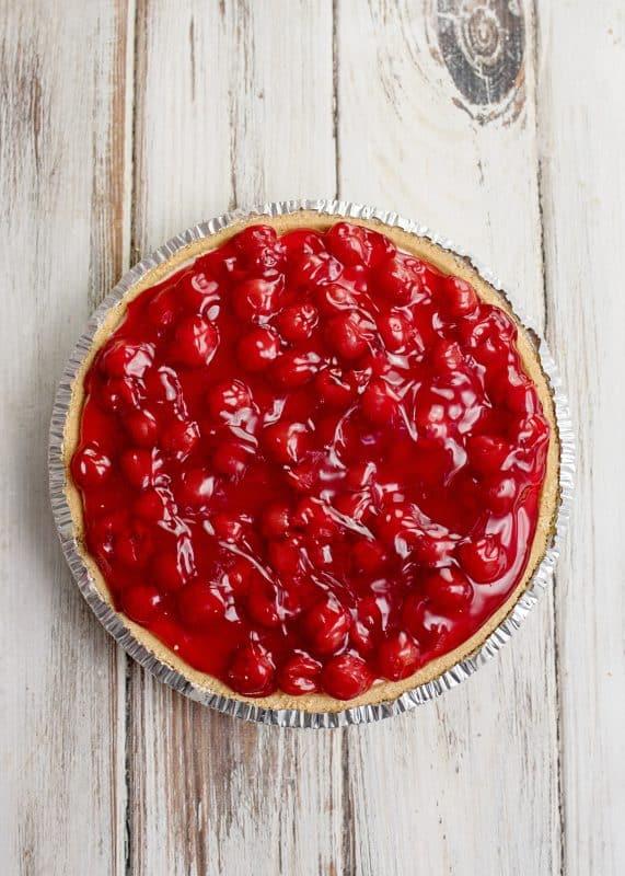 Cherry Cream Cheese Pie - Beautiful!