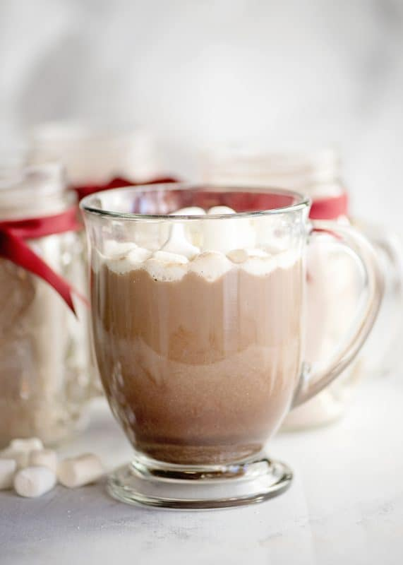 Delicious Homemade Hot Chocolate (made from mix!)