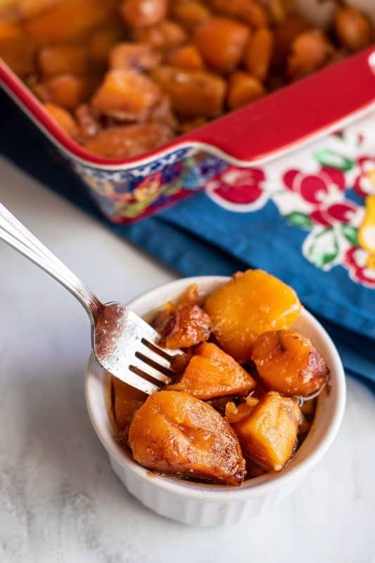 candied sweet potatoes
