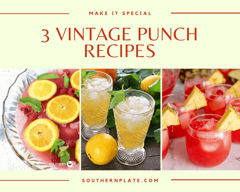 Vintage Punch recipes