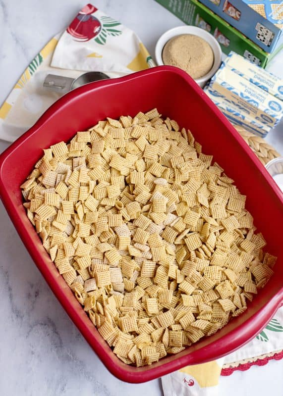 Sweet and Crunchy Chex Mix