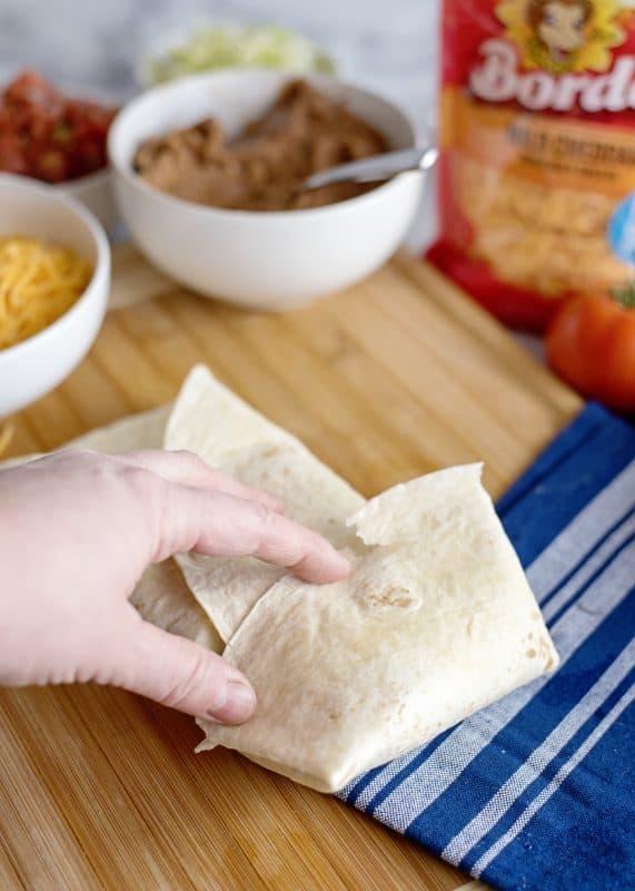 how to fold burritos