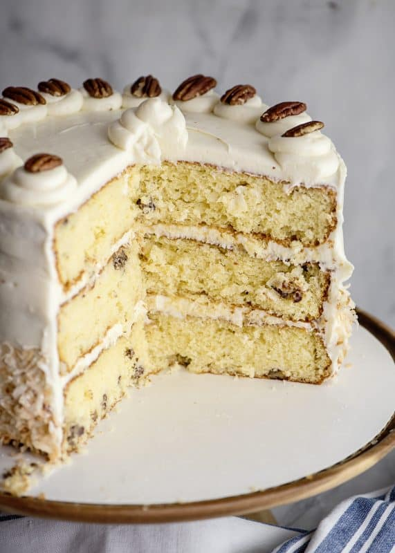 Jyl's Italian Cream Cake