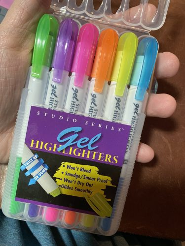 Gel HIghlighters