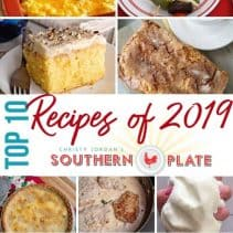 Top 10 2019 REcipes