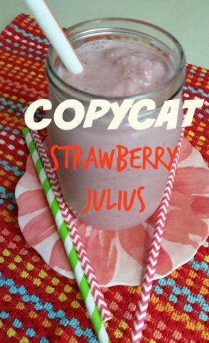 Strawberry Julius copycat recipe