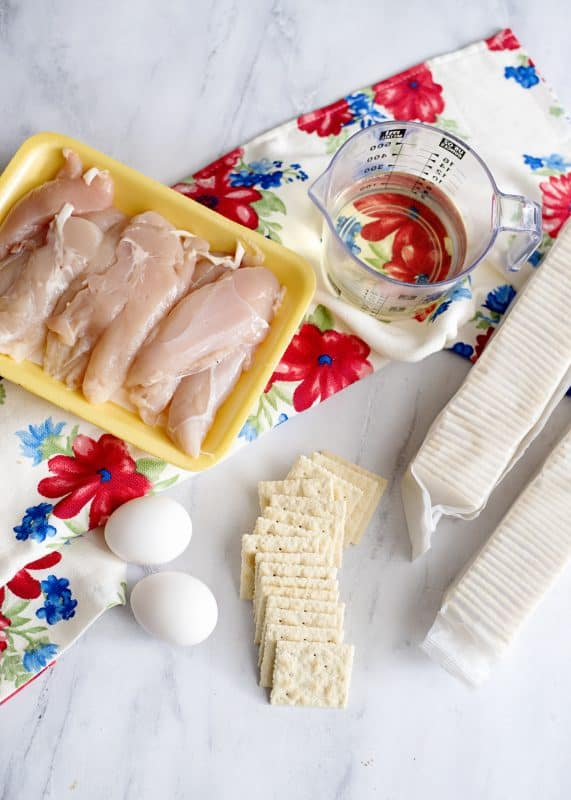 chicken planks ingredietns