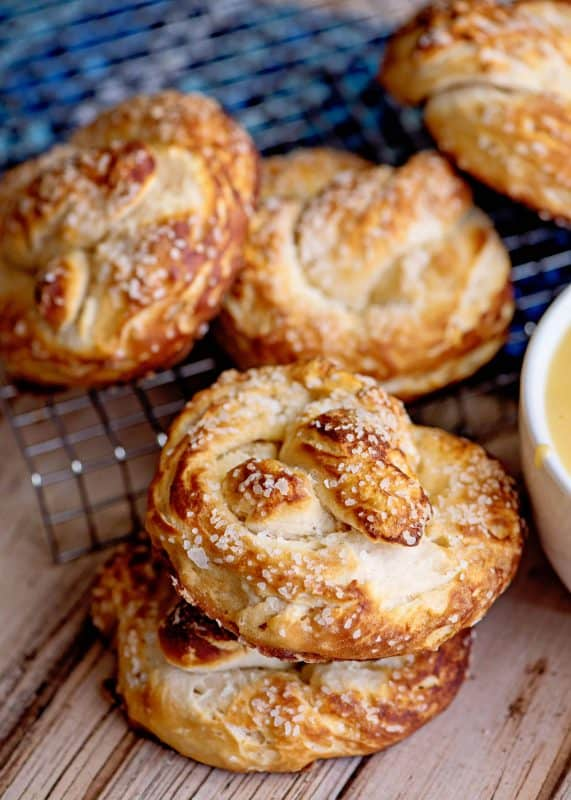 Biscuit Pretzels - AMAZING Pretzels From Canned Biscuits!