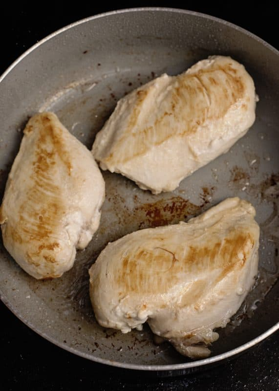 Browning Chicken Breasts