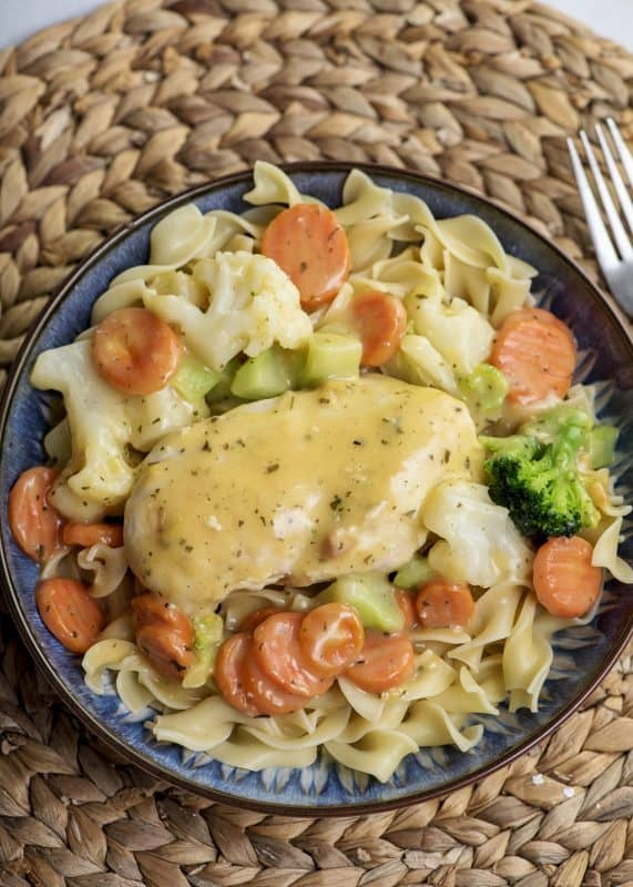 Creamy Chicken Skillet final photo