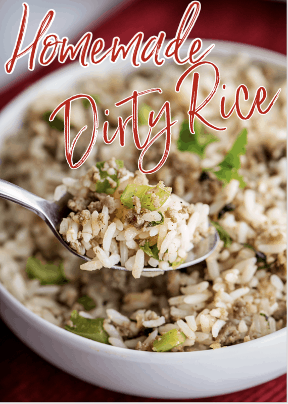 Meal Plan MOnday Dirty Rice