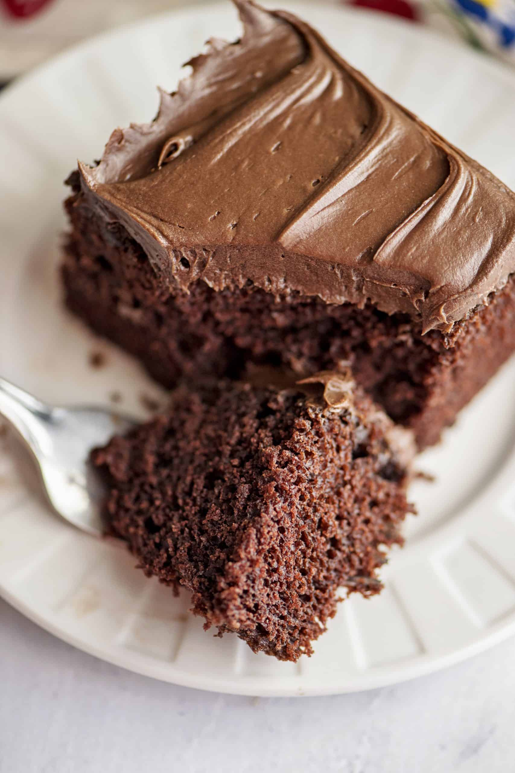 Chocolate Depression Wacky Cake