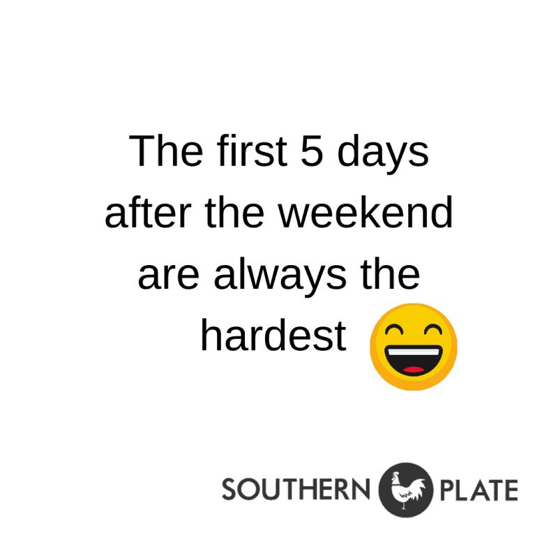 weekend southernplate