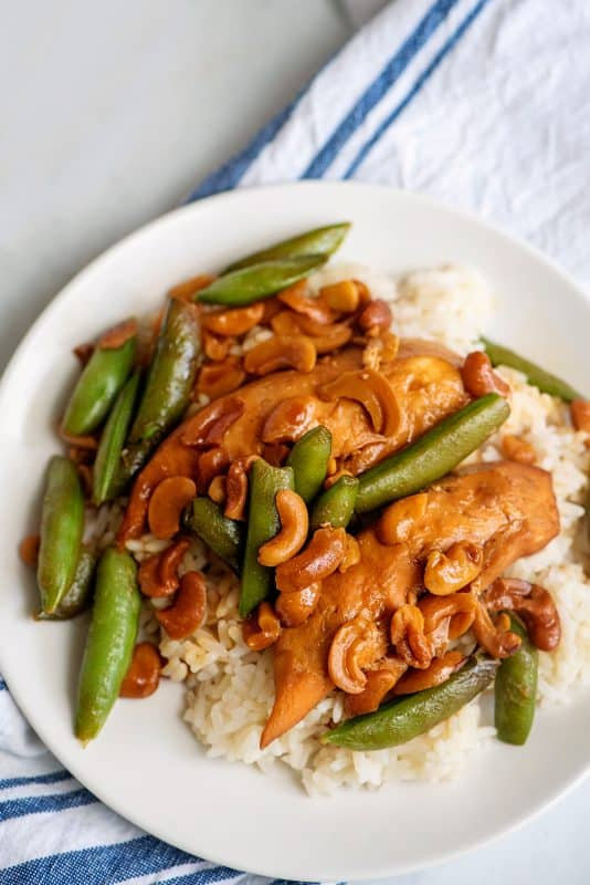 Crock Pot Cashew Chicken