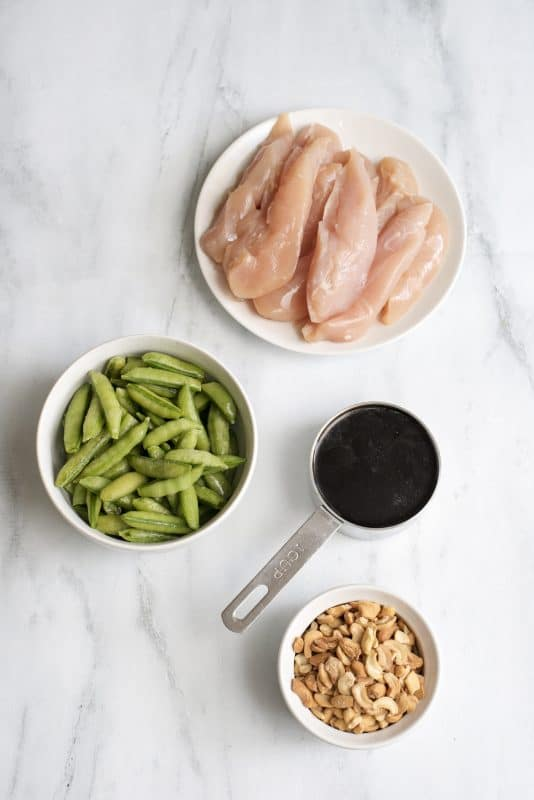 Crock Pot Cashew Chicken Ingredients