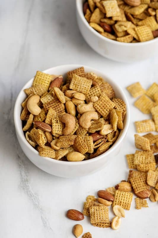 Grandmama's Microwave Chex Mix
