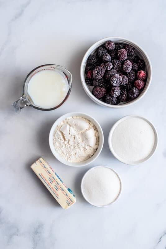 berry cobbler ingredients
