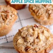 apple spice muffin recipe