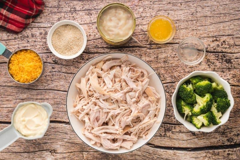 chicken divan casserole ingredients