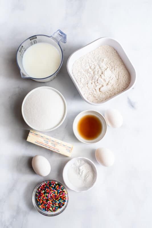 ingredients Easy birthday cake