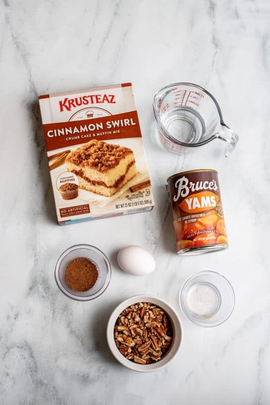 sweet potato bread ingredients
