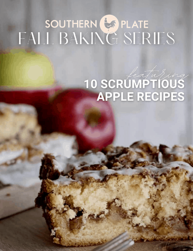 FAll Baking Series Southern Plate Apples