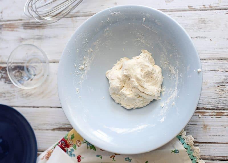 dough for vinegar dumplings