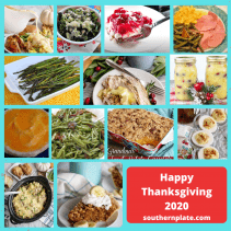 Thanksgiving menu 2021