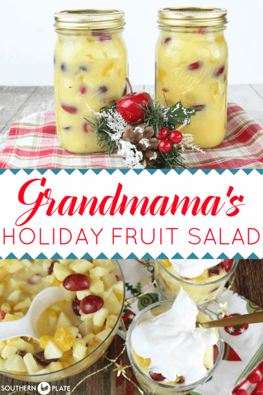 Holiday Fruit Salad featured at Meal Plan Monday 246