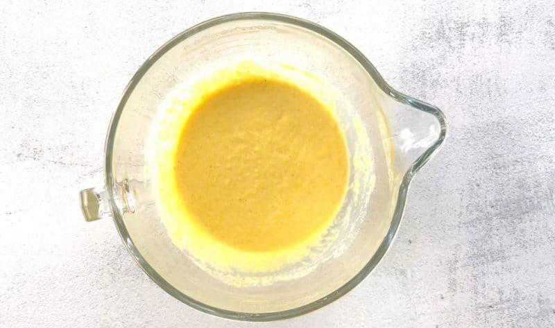 cornbread casserole mix the batter