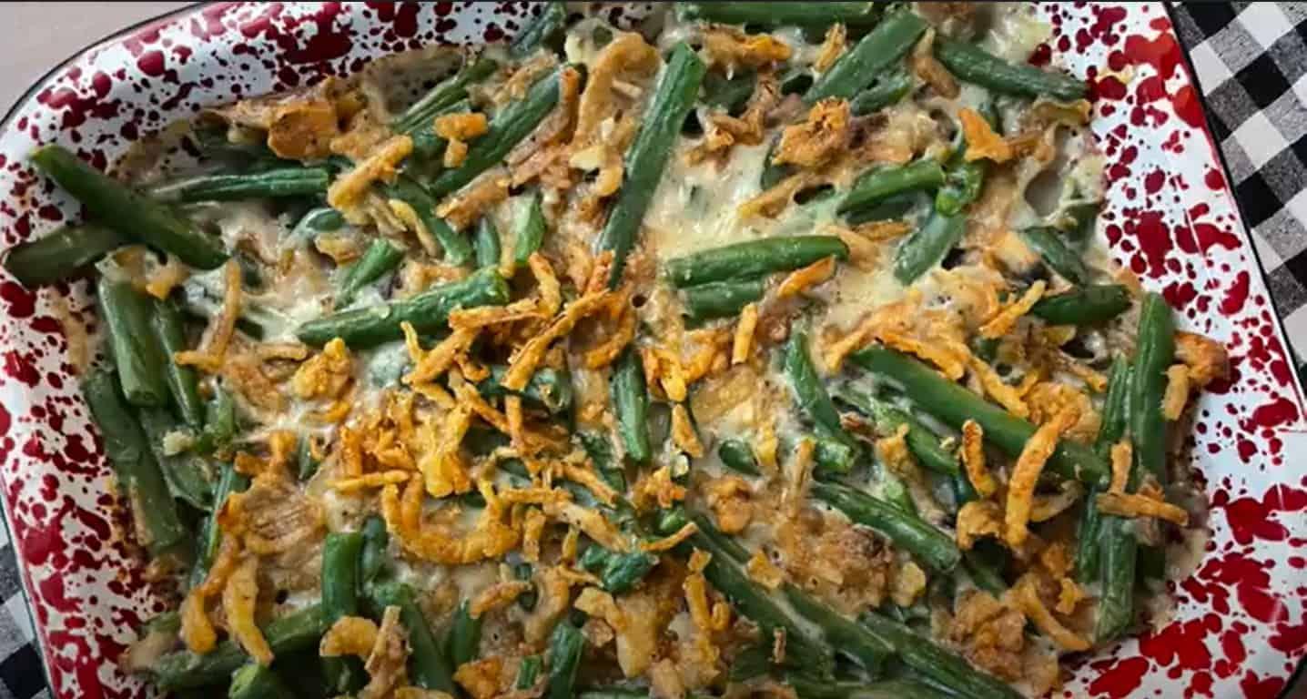 green bean casserole hero