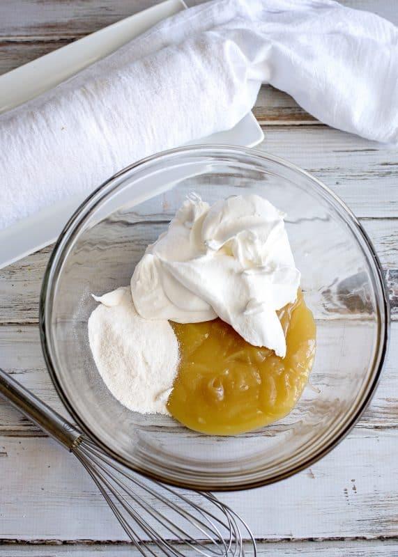 lemon angel food cake roll filling ingredients