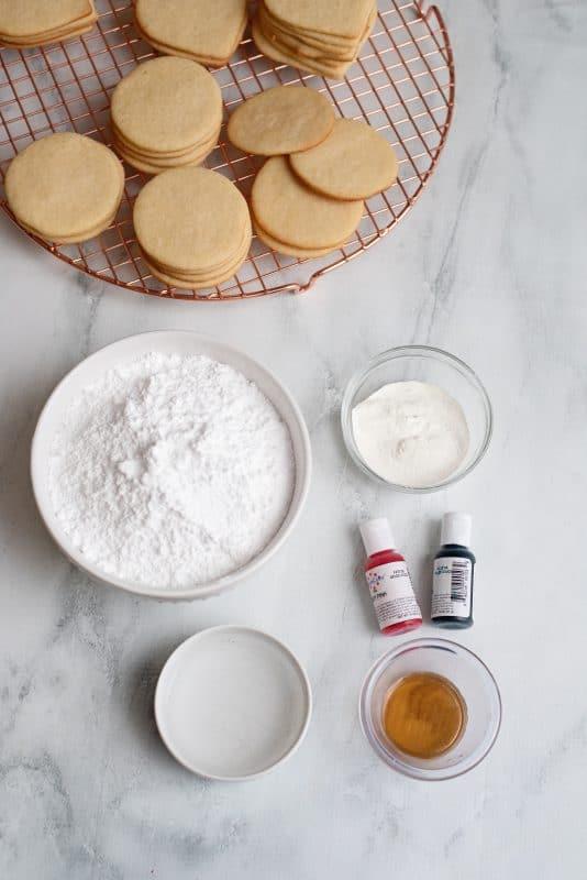 Royal Icing Ingredients