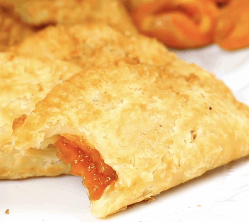 fried peach pie