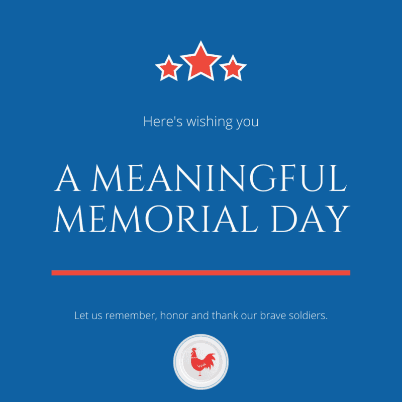 Meaningful Memorial Day