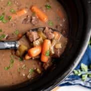 cook 7-9 hours then scoop of pot roast and gravy