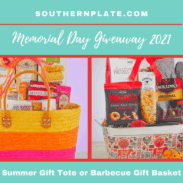 summer tote gift basket and barbecue gift basket