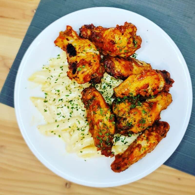 mango chicken wings