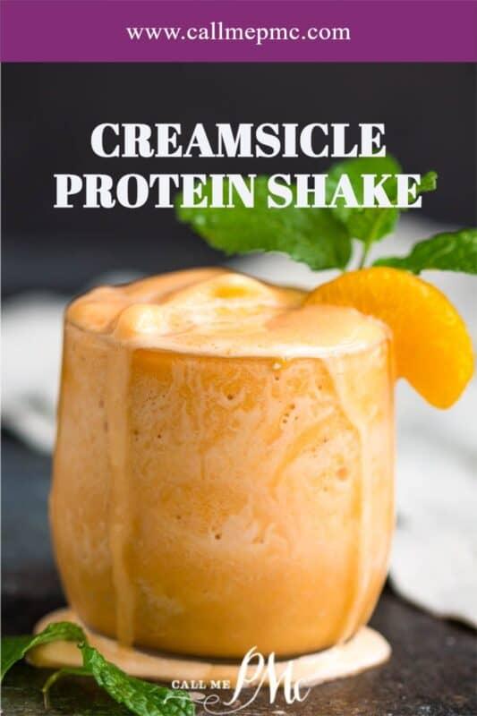 creamsickle Protein shake
