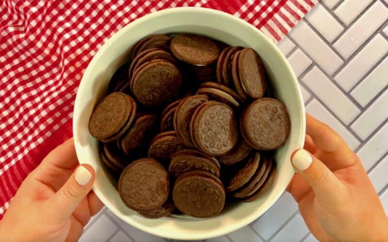 one package of oreo cookies